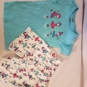 Gymboree girls summer pajamas. Size 6